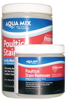 AQUA MIX® POULTICE STAIN REMOVER