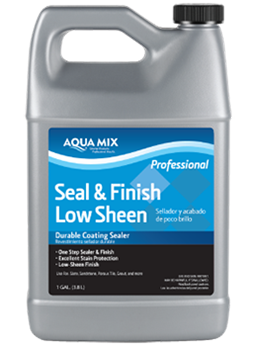 water-based one step sealer and finish