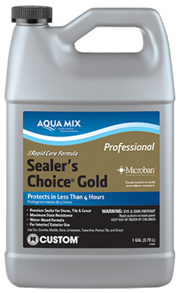 Premium sealer for stone, grout and tile