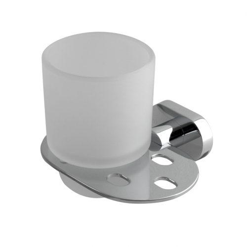 Wall mounted tumbler holder