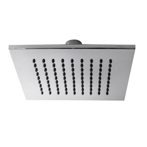 square shower head with ball joint