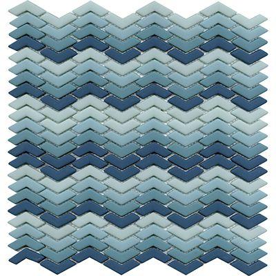 GLAZE WAVE TURQUOISE MATT